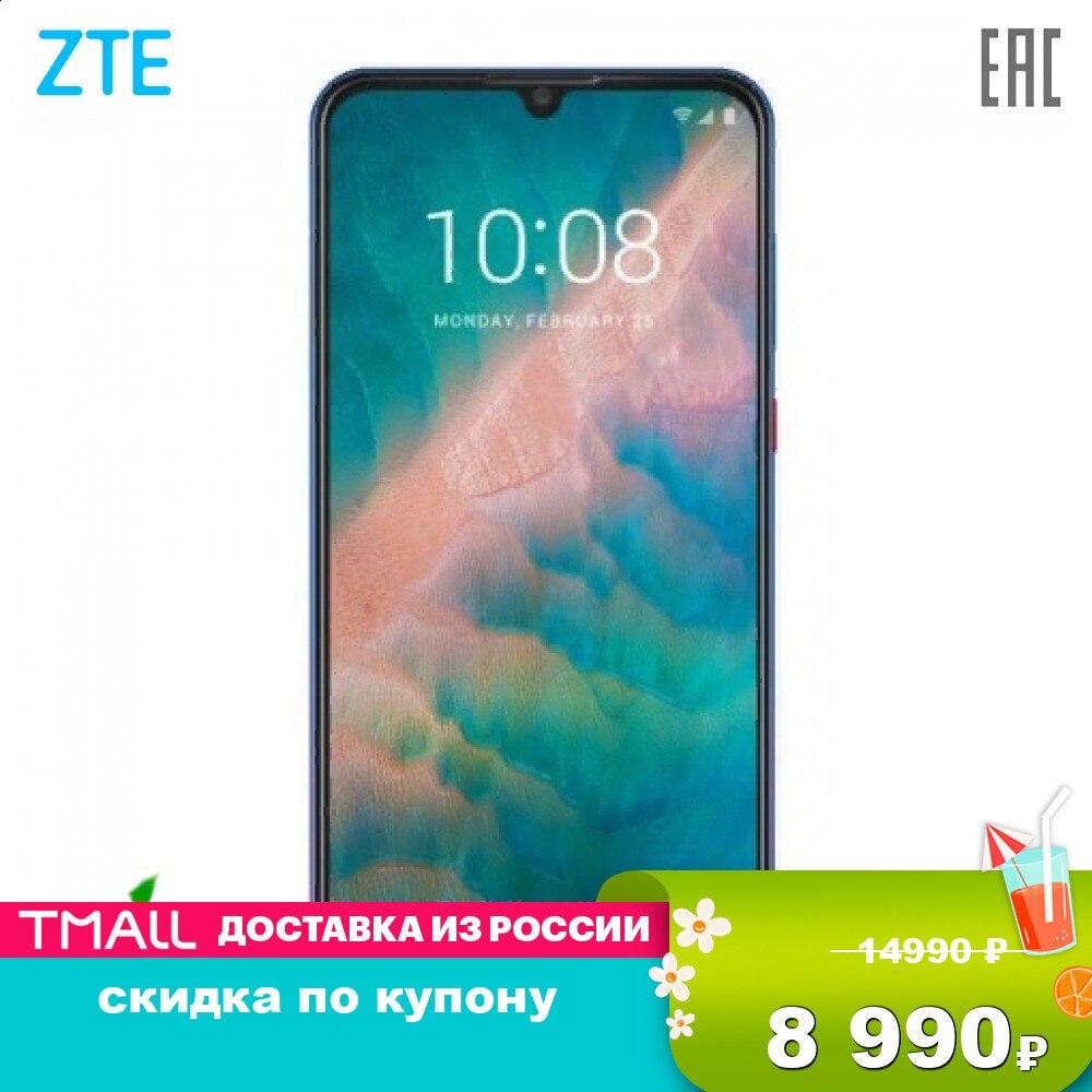 Teléfonos móviles ZTE V10 teléfono inteligente smartphones android puro batería potente escáner de huellas dactilares Nfc Blade V10 2280x1080 2,1 GHz 8 Core hasta 256GB flash 16Mpix + 5Mpix 32Mpix