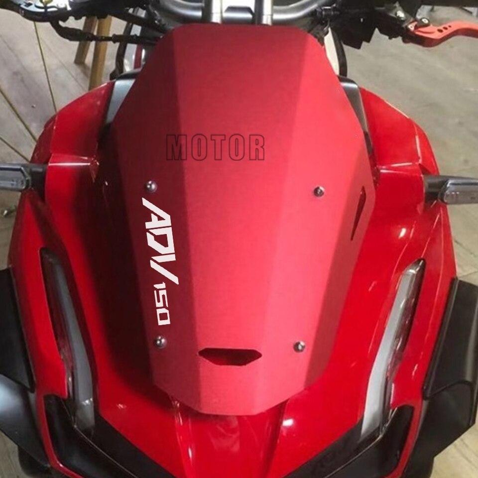 Para honda adv150 adv 150 2019 2020 2021 cnc alumínio acessórios de moto scooter pára brisas defletores 19 20 adv150