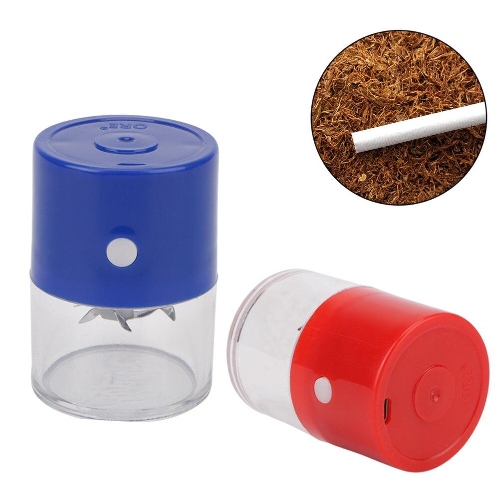 Перезаряжаемые Электрический металлический измельчитель для табака лист дробилка Портативный рукоятки дыма специй Muller машина аксессуары для сигарет
