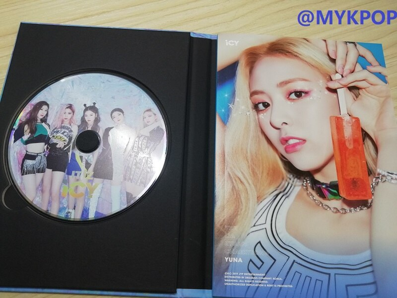mykpop official 100 original oficial ititzy 1st mini album itz z icy cd kpop fas colecao sa21052302