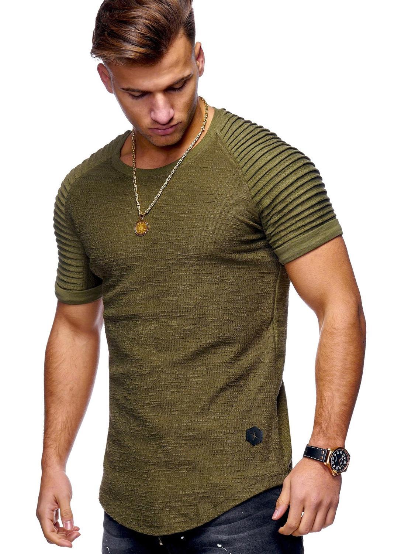 Мужская летняя футболка, новинка 1347
