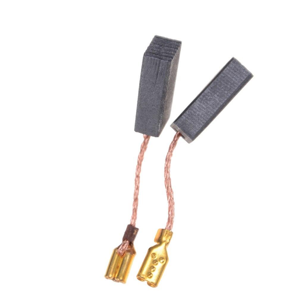 10 шт./лот, набор углеродных кистей из графитовой меди, плотный медный провод для электрического молотка/сверла, угловой шлифовальный станок ...