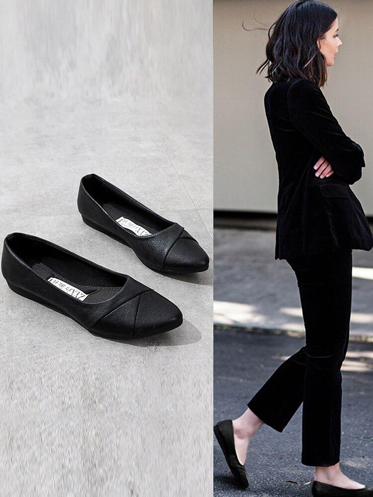 Women Ballet Flats shoes Cloth Flats Sweet Loafers Slip On Women's Pregnant Flat Shoes Women Shoes Women Ballet Flats for Work