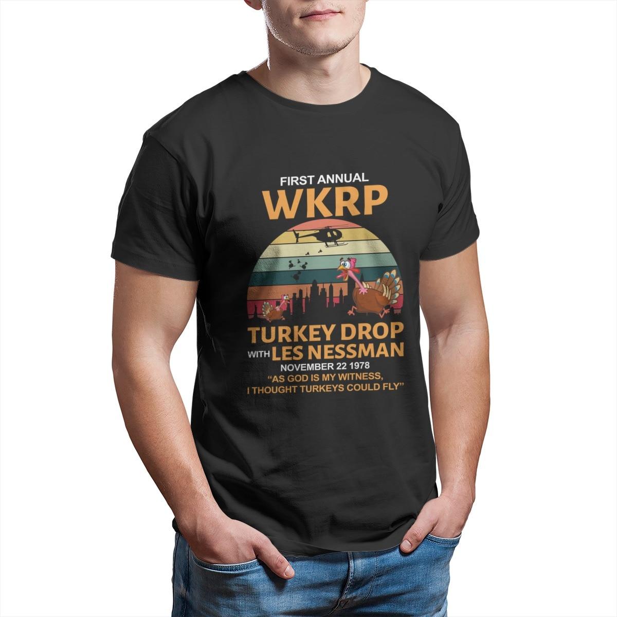 Primeira queda de peru anual wkrp com menos messman moda casais engraçados combinando camisetas gráficas bonitos mais roupas tamanho 6386