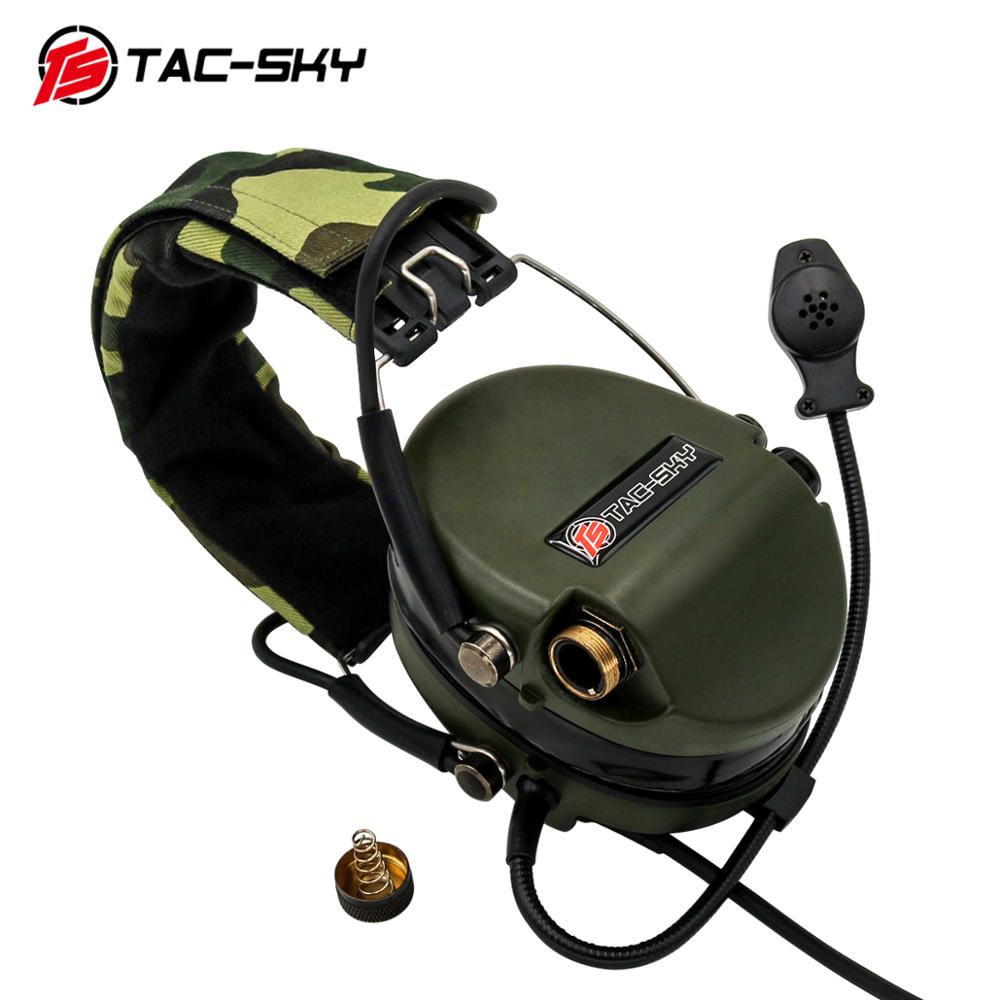 TAC-SKY tactical shooting SORDIN noise reduction pickup hunting sports protective earmuffs headphones
