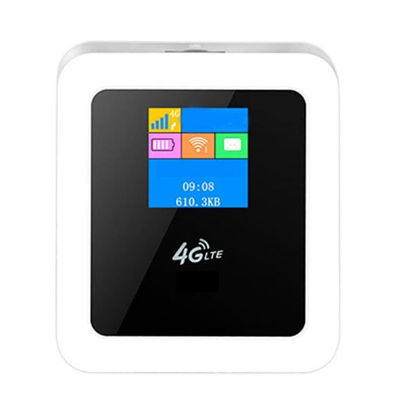 موجه واي فاي لاسلكي صغير 4G ، نقطة وصول محمولة للسيارة ، مع فتحة بطاقة Sim