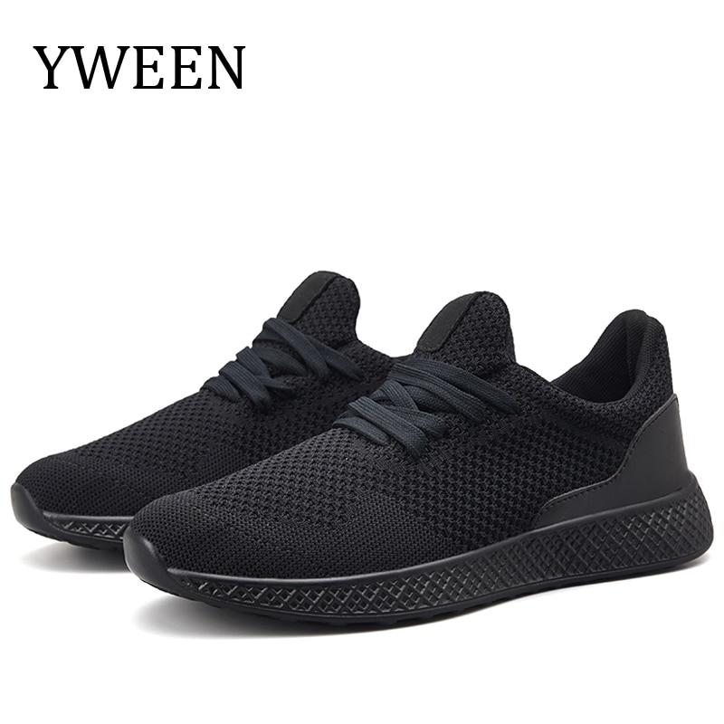 YWEEN NEW Men Shoes Mens Casual Shoes Hot Sale Sneaker Driving Air Big Plus Size Shoes Male Adult Fashion 2018 new arrival puma men s tsugi jun cubism sneaker badminton shoes size36 44