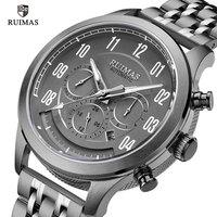 RUIMAS Business Steel Automatic Watches Men Luxury Top Brand Mechanical Wristwatch Man Relogio Masculino Waterproof Watch 6785