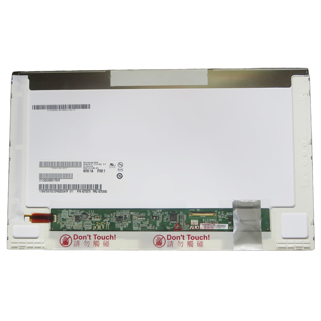 B133XW02 V0 V1 B133XW04 V2 N133BGE-L11 L21 LTN133AT17-305 شاشة لاب توب LCD LVDS 40 دبابيس 13.3 بوصة عرض لوحة استبدال
