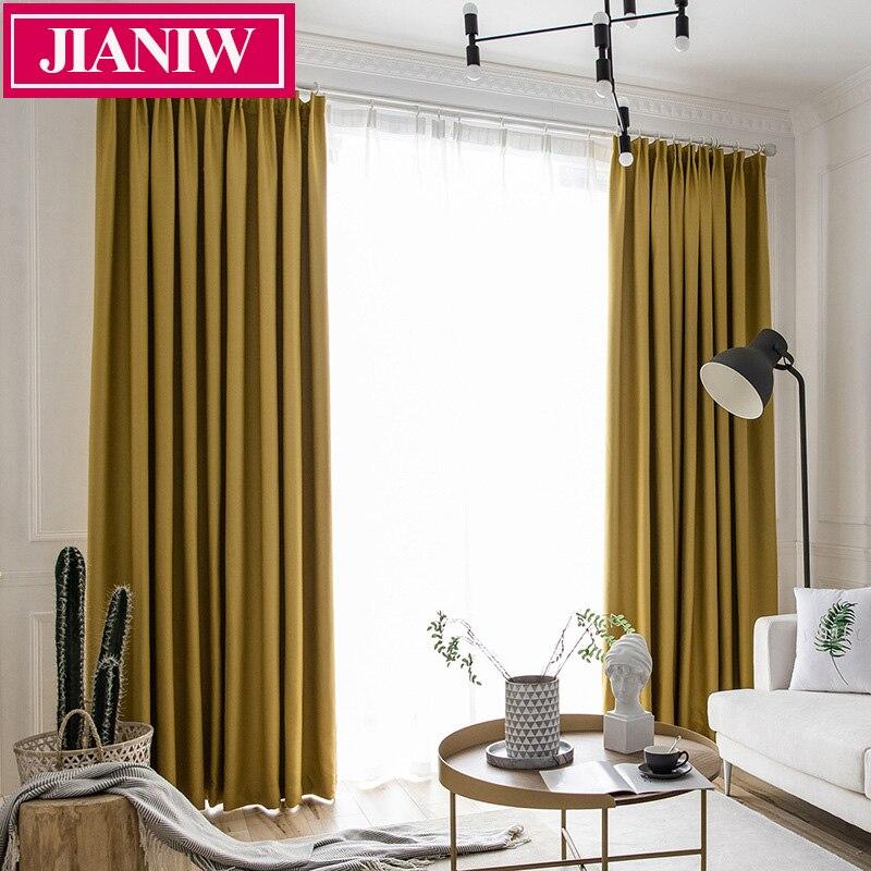 JIANIW-ستارة تعتيم ، 90-95% ، مع تقليل الضوضاء ، عازل حراري ، لغرفة المعيشة