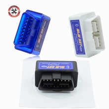 Лидер продаж! Автомобильный мини-сканер OBD ELM327 Bluetooth OBD2 V2.1, Автомобильный сканер OBDII 2, автомобильный тестер ELM 327, диагностический инструмент ...