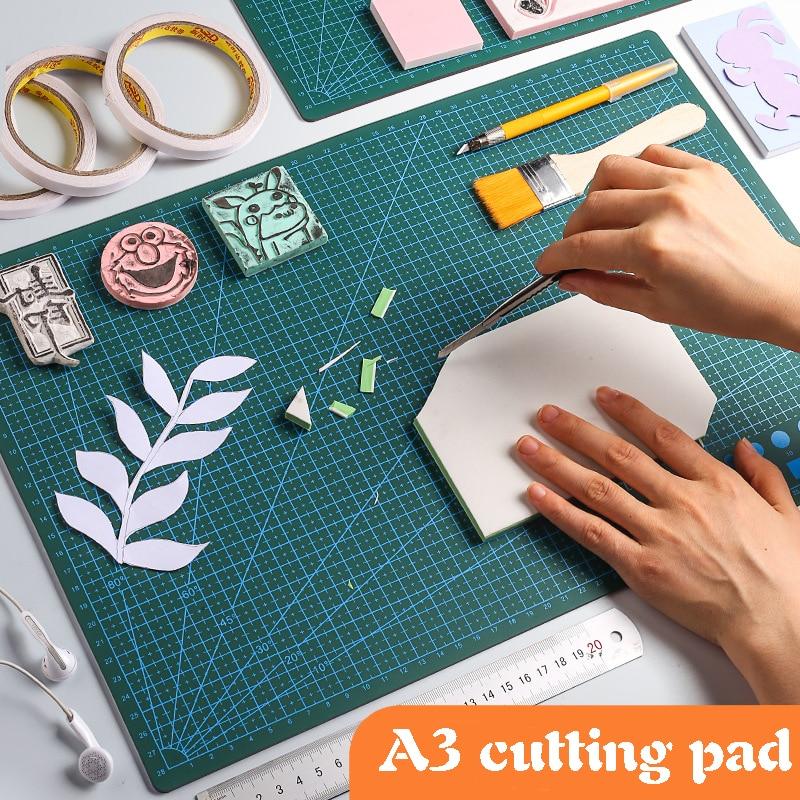 Multifunction a3 self-healing plutonium leather slab diy carving hand-written tool shear knife cushion a3 Shredded tools