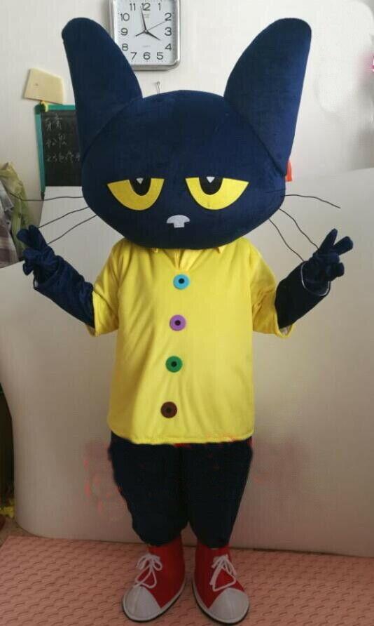 Navidad Halloween parte Pete disfraz de Mascota de gato trajes Cosplay fiesta carnaval adultos fiesta de cumpleaños equipo elegante