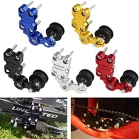 universal aluminum blackredsilverbluegold alloy brand new adjuster chain tensioner roller for motorcycle chopper atv