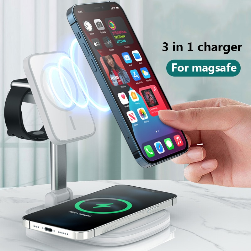 for-3in1-multifunction-magsafe-charger-for-iphone-12-apple-watch-airpods-pro-collapsible-magnetic-fast-wireless-charging-station