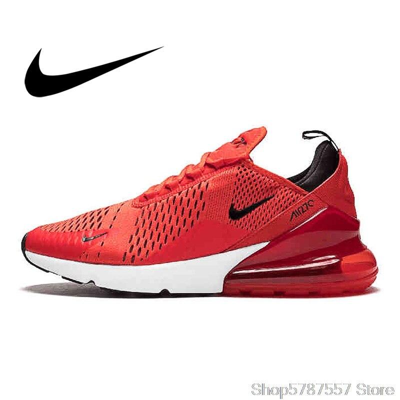 Calzado deportivo para hombre, calzado para correr al aire libre Nike Air Max 270, AH8050-100 ligero cómodo y duradero para hombre AirMax 270