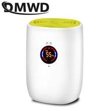 Deshumidificador eléctrico portátil de 110V/220V, purificador de aire frío, desecante, pantalla LED, absorbente de apagado automático, descongelado