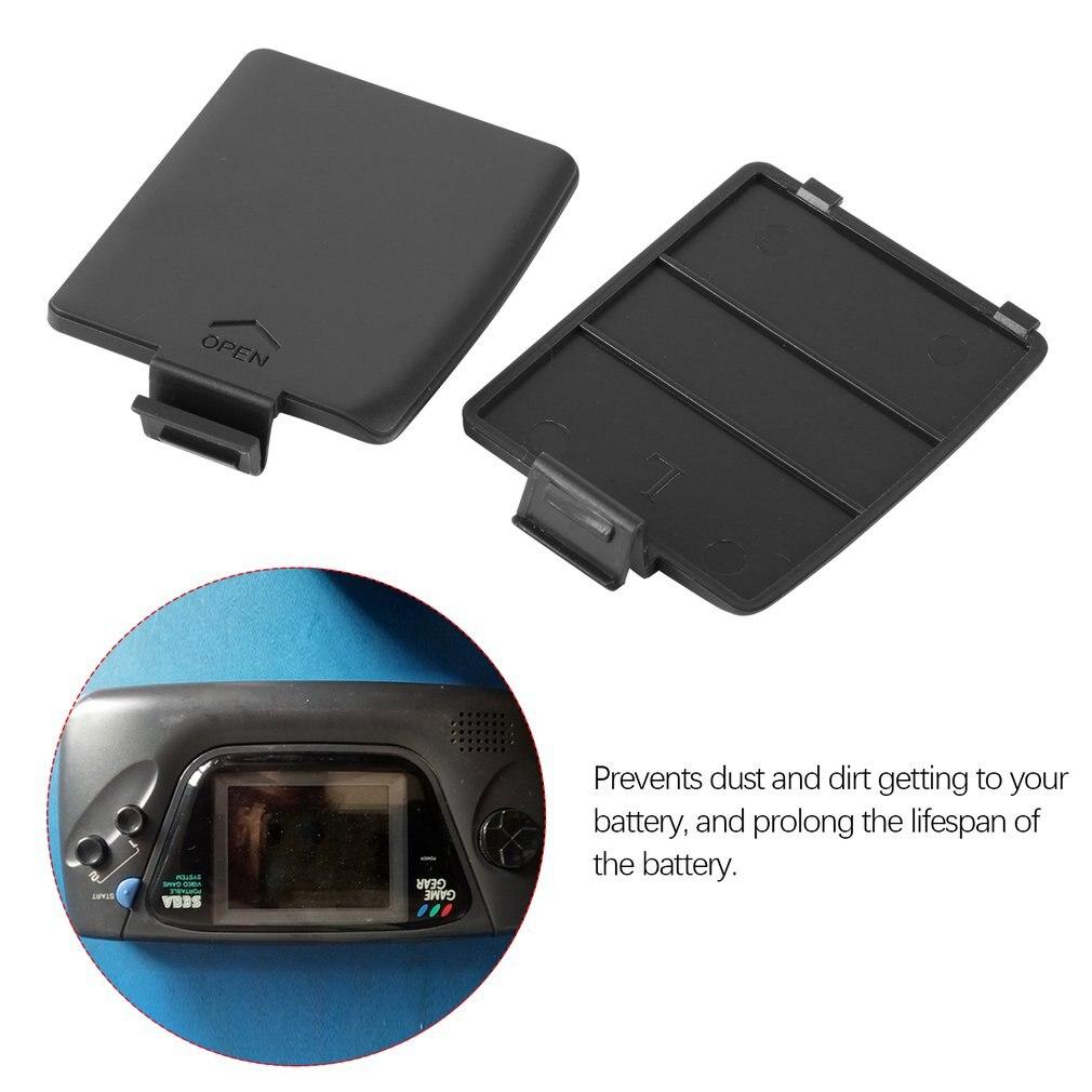 1 пара Сменный Чехол на батарейку для sega Gamegear консоль для sega GG чехол на батарейку