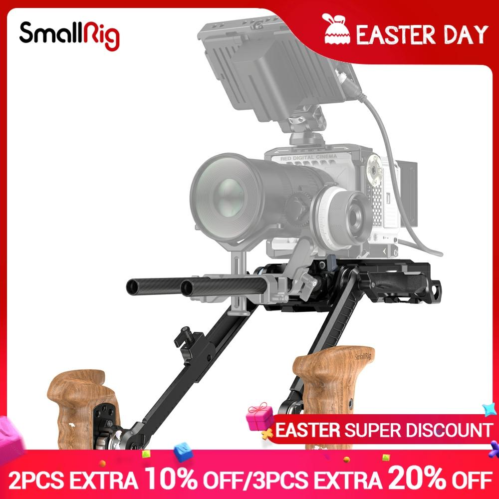 SmallRig Universal multifuncional hombro Kit para SONY VCT-14 FS5/FS5II/FS7/FS7II/FX9/FX6 /BMPCC4K/6K 3169