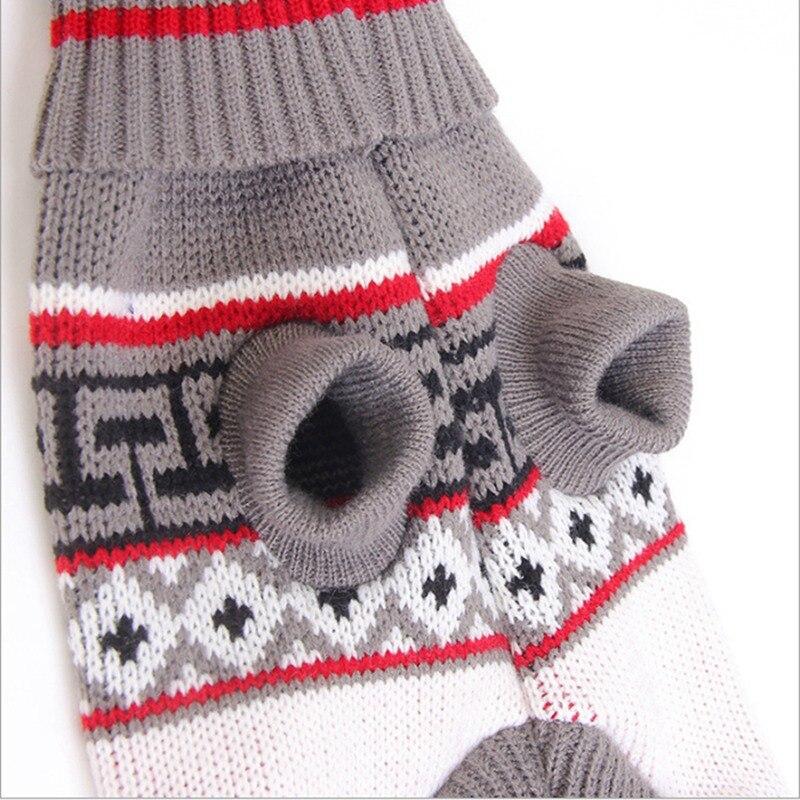 Pet Roupas Para Cães de Outono E Inverno Frio Quente Acessórios Maple Leaves Sweater
