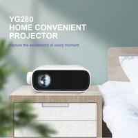 Full HD Soutient 1080P Mini PROJECTEUR LED Home Cinema Cinema USB HDMI Audio Portatif Lecteur Video
