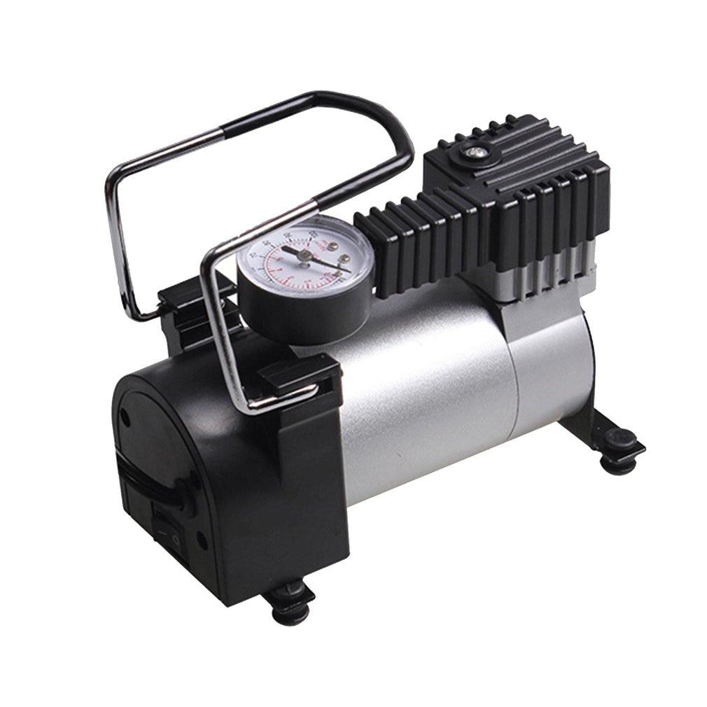 Насос воздушный компрессор 12 В портативный автомобильный Электрический насос Электрический шиномонтажный насос AC-480 для авто велосипедов ...