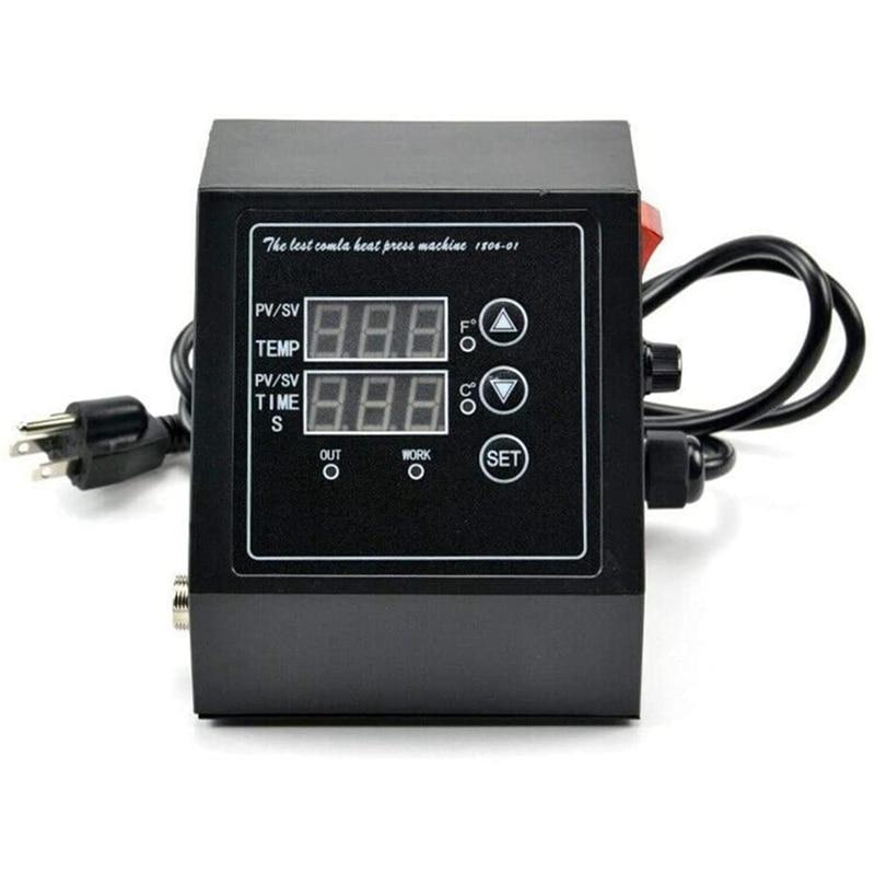 صندوق التحكم في درجة الحرارة لآلة الضغط الحراري ، وحدة تحكم LED رقمية متعددة الوظائف ، من أجل ECO LLC ، نقل الحرارة ، قابس الولايات المتحدة