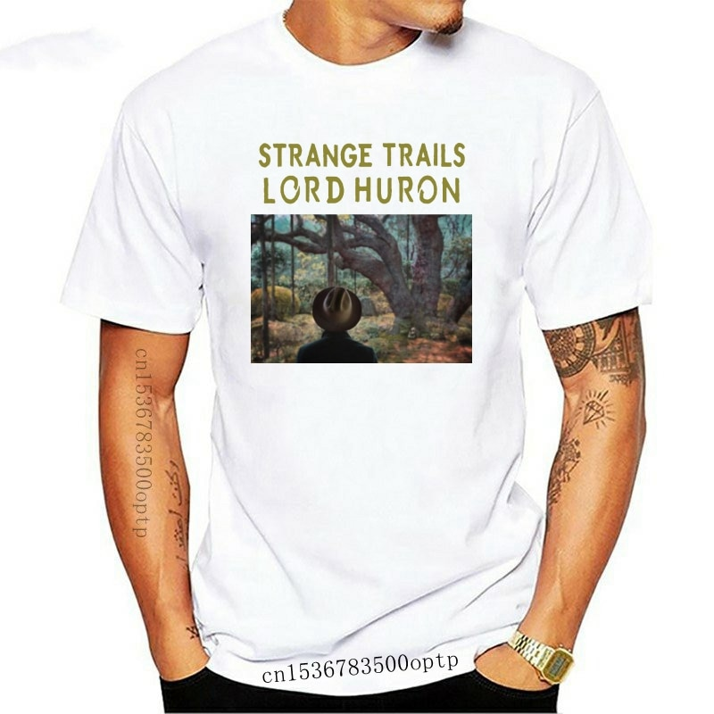 New Strange Trails Lord Huron T Shirt Mens S To 3Xl Color White