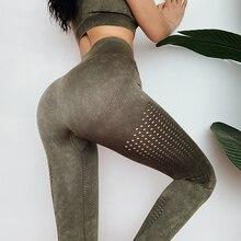 Leggings sans couture taille haute vêtements dhiver femmes pantalons femmes Yoga Leggings de gymnastique femmes Sport Leggings entraînement femmes Legging