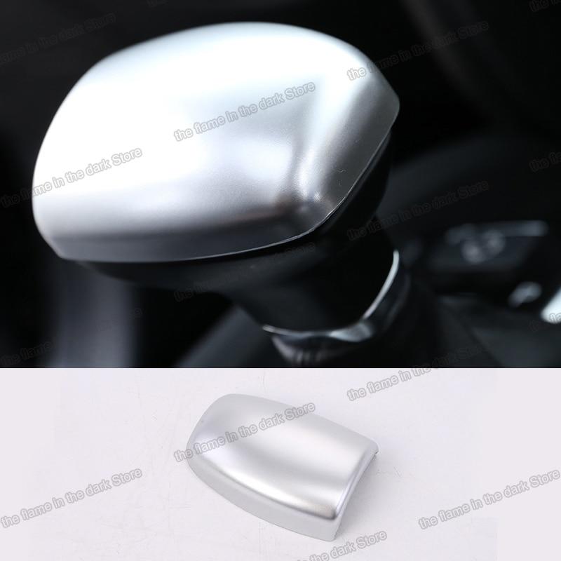Lsrtw2017 para Trumpchi Gs8 cubierta de palanca de cambios de coche embellecedores accesorios interiores molduras cromo 2017 2018 2019 2020 gac