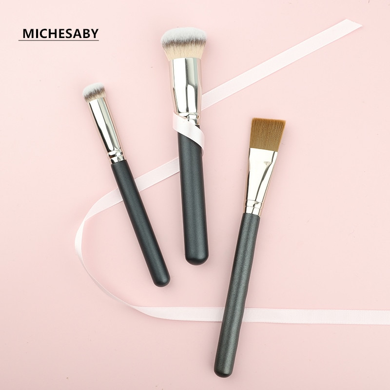 7 Types Of Makeup Brushes, Concealer Brushes, Mask Brushes, Non-Slip Water Handle, Fashion High-Qual