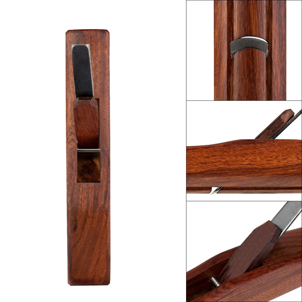 Rosewood Shungee Veining Plane Cylindrical Planing Tools Convex Planer Woodworking Tools enlarge
