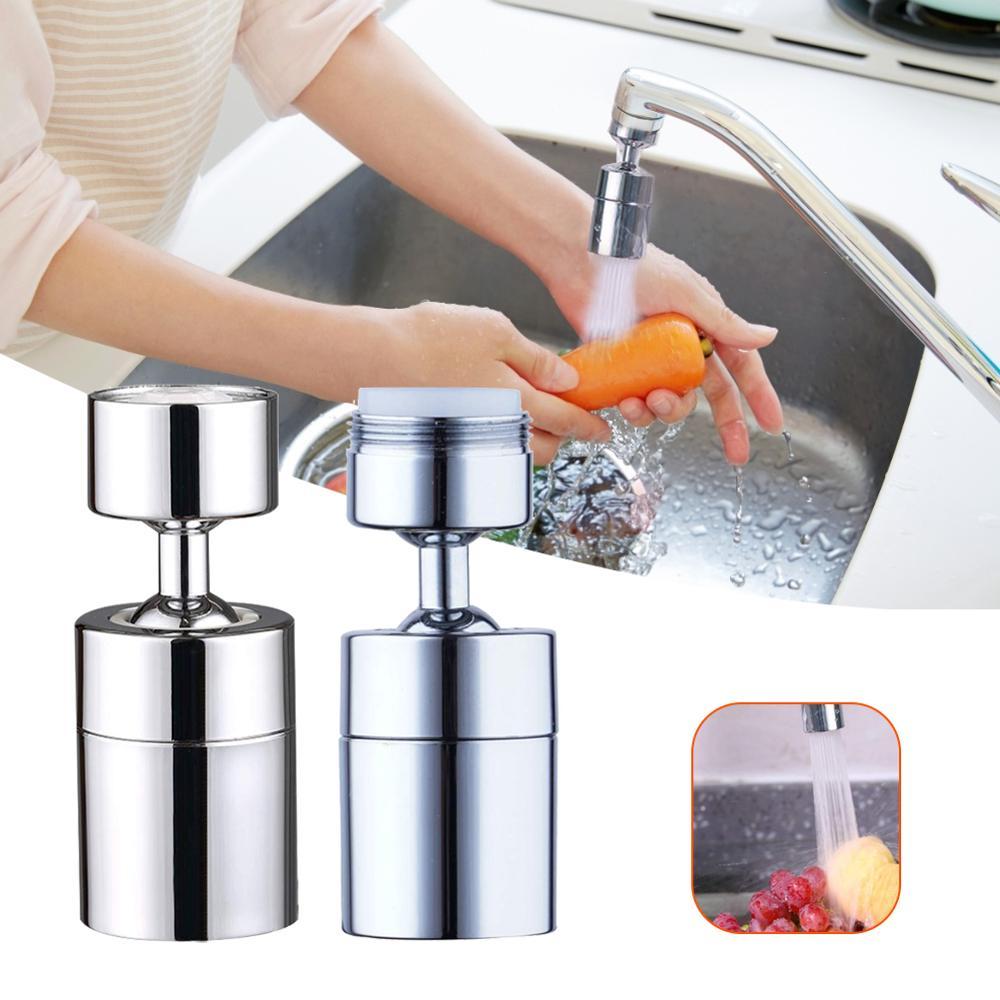 Boquilla de grifo, aireador de 360 grados, grifo giratorio, rociador de ahorro de agua, mezclador de fregadero, conector Flexible, grifo de cocina, caño de ahorro de agua