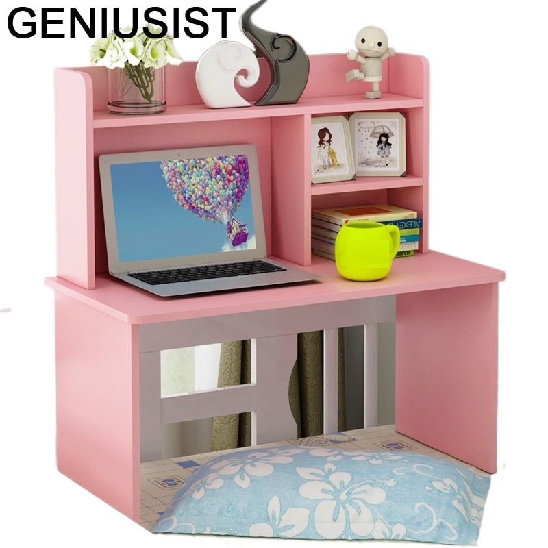 Кровать De Oficina Biurko Малый Меса Escritorio Lap Infantil офисный Tisch прикроватная подставка для ноутбука Компьютерные Столы Рабочий стол