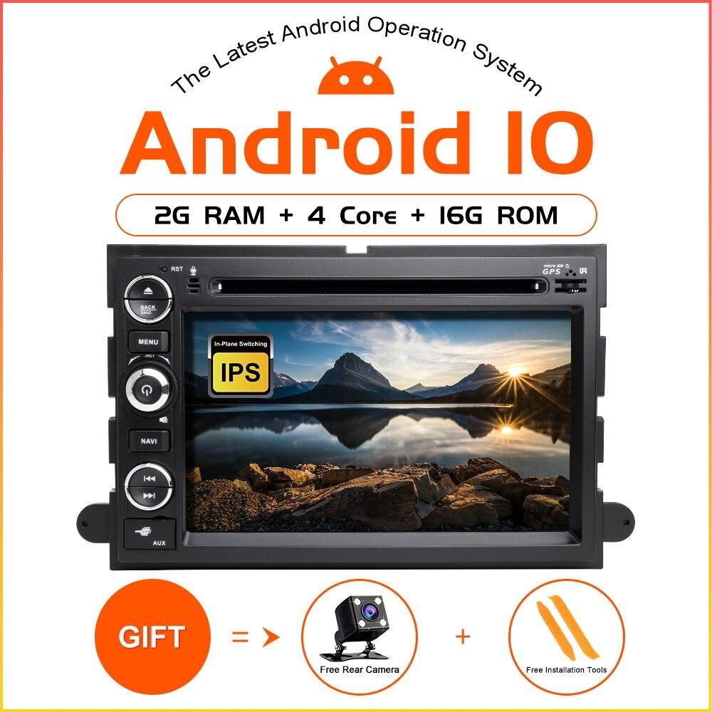 ZLTOOPAI Android 10 reproductor Multimedia para auto Ford F150 fusión expedición Mustang Explorer borde GPS para coche Radio Estéreo reproductor de DVD