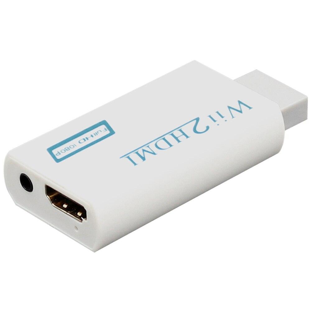 Willkey-Adaptador convertidor Mini 720P 1080P Full HD Wii a HDMI, salida de...