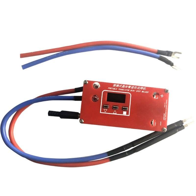 2021 New Portable DIY Mini Spot Welder Machine 18650 Battery Various Welding Power Supply