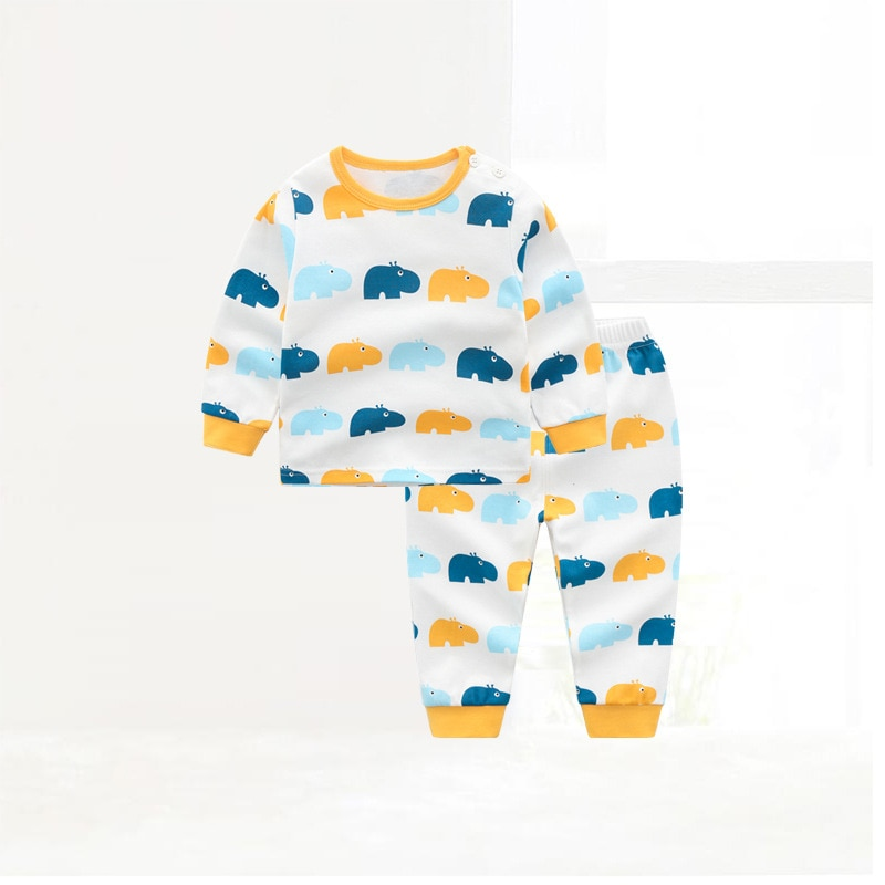 ZWY845 طفل رضيع الفتيان الفتيات ملابس الطفل رياضية ربيع الخريف KidsPants 2 قطعة/المجموعة الزي الأطفال ملابس كاجوال