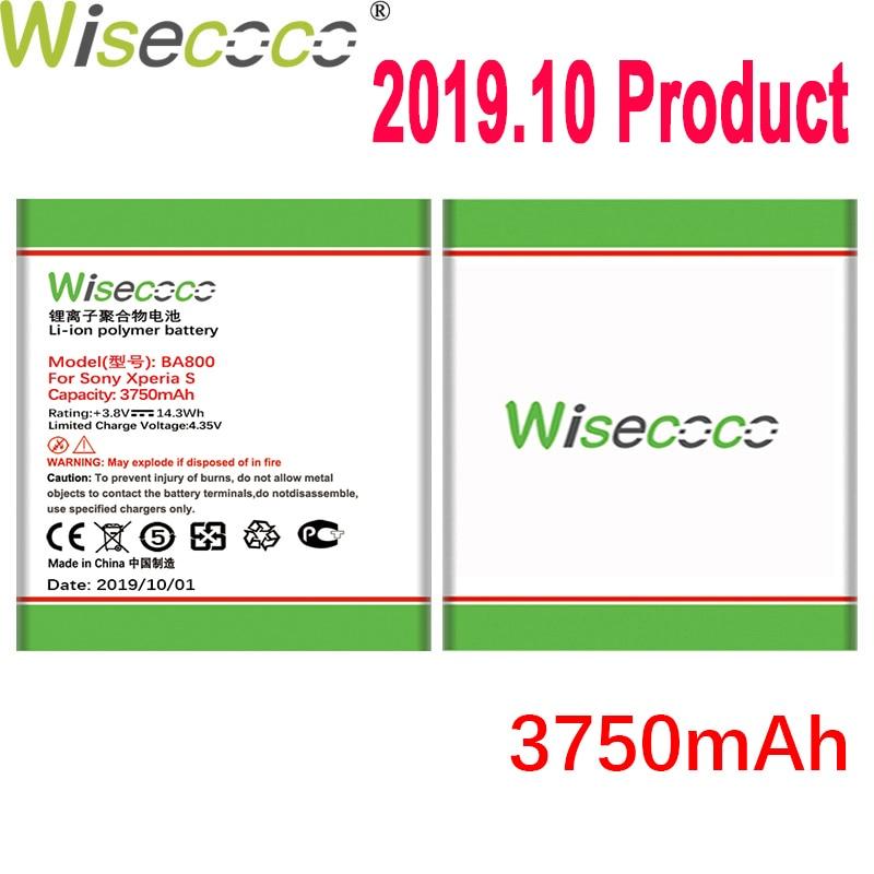 Wisecoco 3750mAh BA800 batería para Sony Ericsson Xperia S arco HD LT26i LT26 V LT25i teléfono última producción + número de seguimiento