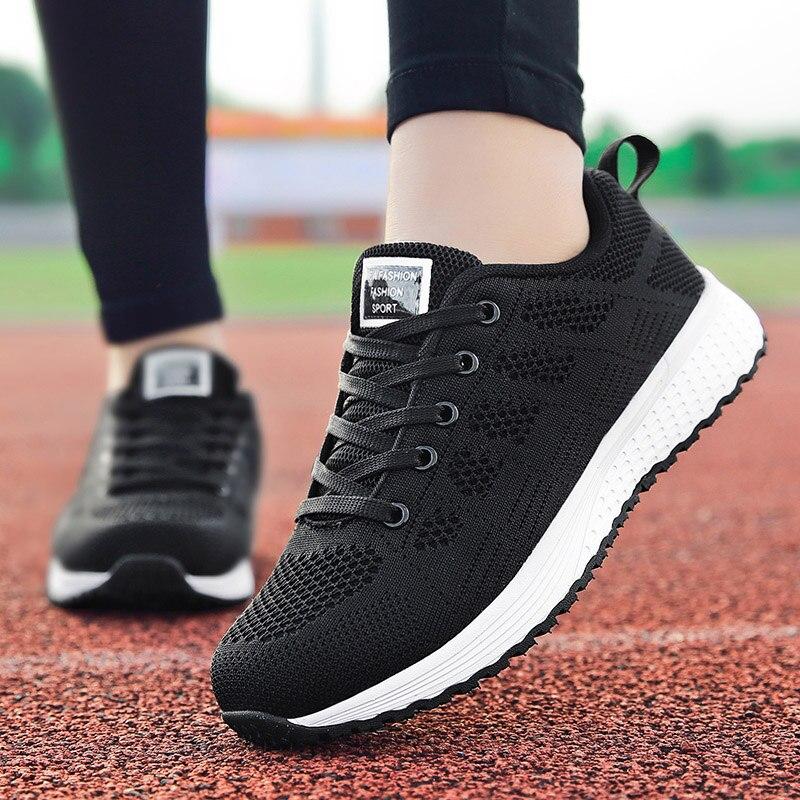 Новые женские кроссовки для бега, спортивная обувь для улицы, дышащие сетчатые легкие кроссовки, удобные повседневные женские кроссовки дл...
