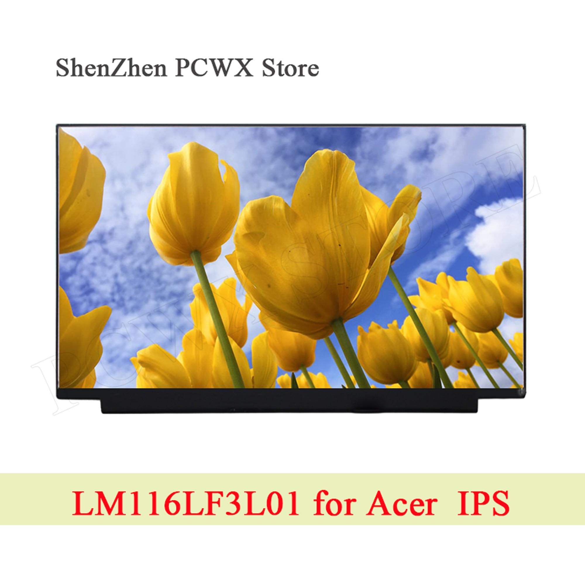 "LM116LF3L01 para Acer SP111-32N-34N girar B1 11,6 ""Pantalla LCD de ordenador portátil 1920*1080 FHD IPS conector eDP matriz para PANDA Panel marca"
