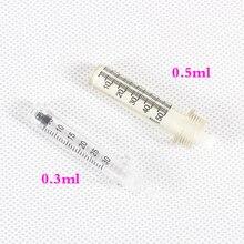 Buse stérile de rapporteur de tête dampoule de seringue de 0.3/0.5ml pour le stylo hyaluronique