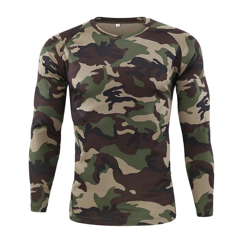 Camisa de combate táctico uniforme militar Us ejército ropa Tatico Tops Airsoft Multicam camuflaje caza pesca ropa hombre XXL
