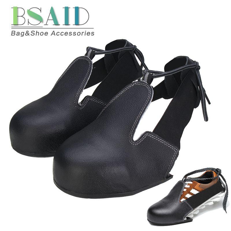 Anti-smashing antideslizante-resistente acero Unisex dedo del pie funda de seguridad para zapatos Universal industria protectora mujeres hombres Overshoes talla 36-45