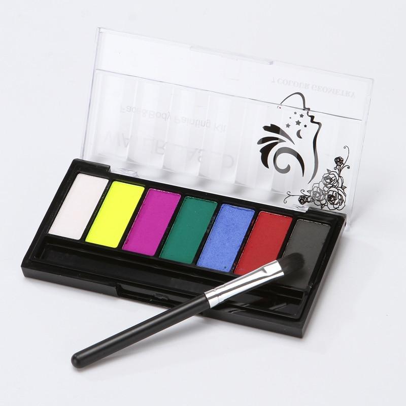 Масляная краска для лица боди арт макияж вечеринки на Хэллоуин инструмент