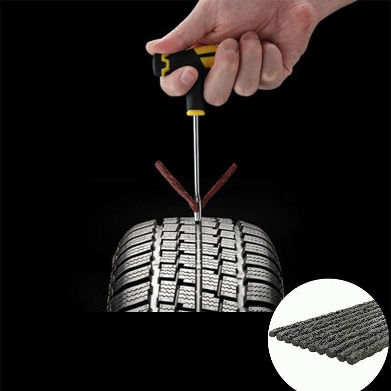 Автомобильный вакуумный ремонт шин толщина Резиновая полоса ремонт шин Высокая вязкость ремонт шин пленка черная стальная полоса инструме...