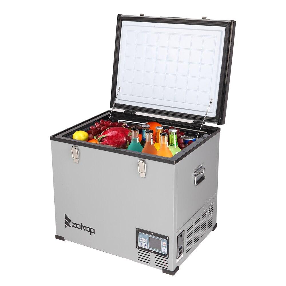 60 л автомобильный холодильник 12 В/24 В компрессор морозильная камера портативный автомобильный холодильник охлаждение для дома путешествия...