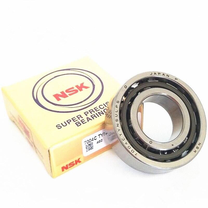 NSK العلامة التجارية 1 قطعة 7002 7002C 2RZ P4 DF A 15x32x9 15x32x18 مختومة الزاوي الاتصال محامل سرعة المغزل محامل CNC ABEC-7