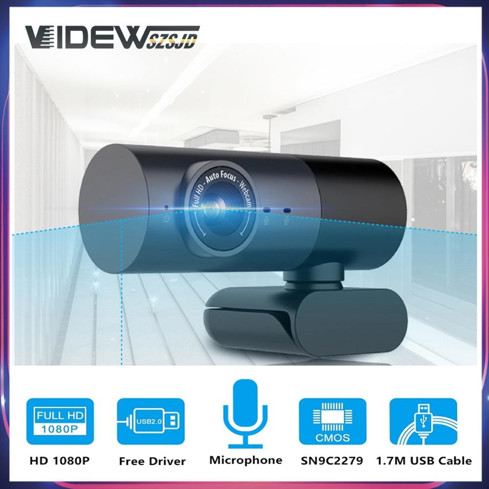 Фото - фотоаппарат Веб-камера 1080P со встроенным микрофоном и динамиком, USB веб-камера HD 3MP 30fps, веб-камера для ноутбуков, ПК, stream Youtube, веб-камера со шта... веб камера