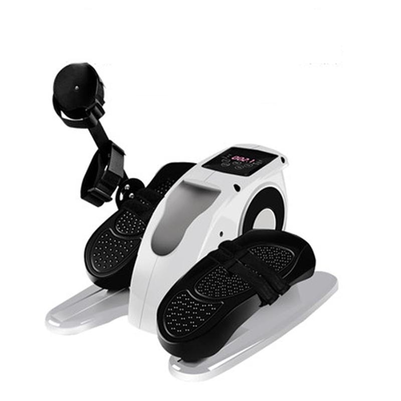 Elderly upper and lower extremity electric rehabilitation training equipment hemiplegia stroke elliptical bicycle treadmill